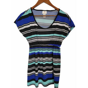 Two Hearts Maternity Striped Top